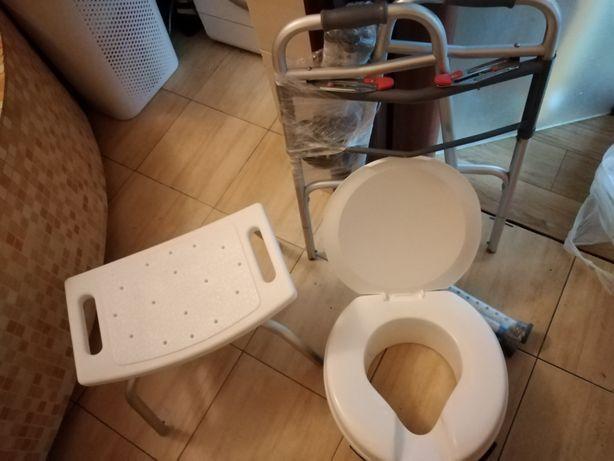 Krzeselko sanitarne toaletowe