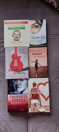 Książki różne. Oddam za darmo.