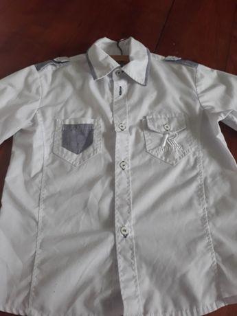 Koszula biala 134cm