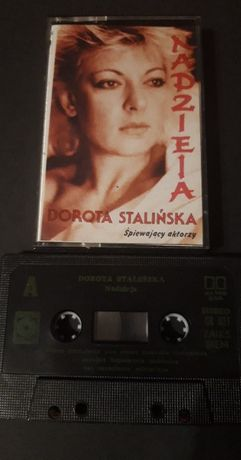 Dorota Stalińska – Nadzieja, KASETA MAGNETOFONOWA 1989 Muza