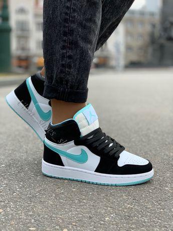 Jordan высокие кроссовки женские
