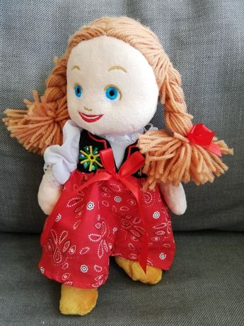 Nowa maskotka lalka góralka