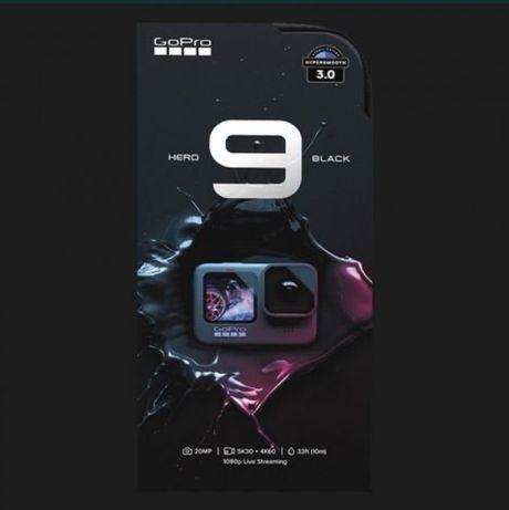 Екшн камера GoPro HERO9 Black Bundle НОВА з повним комплектом