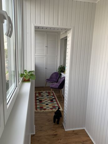 Ремонт балкона, внутренняя обшивка,балкон под ключ