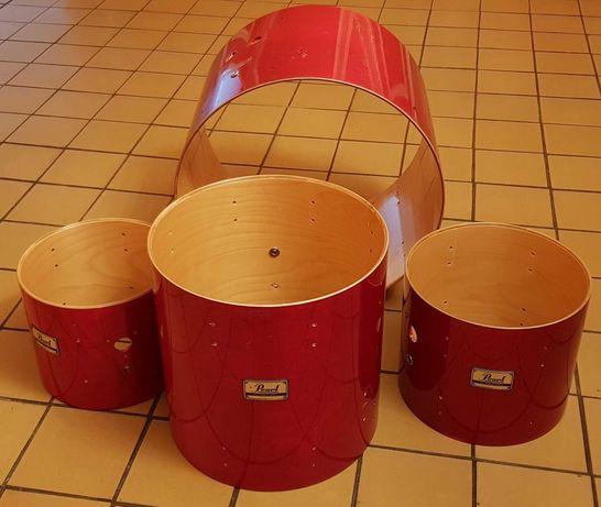 Pearl blx, perkusja, bębny, korpusy