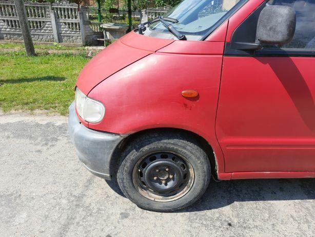 Диски колесные стальные R15 4 шт на Nissan Vanette Cargo, Serena C23