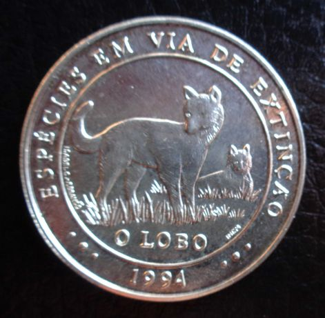 Mil Escudos Prata 1994 O Lobo
