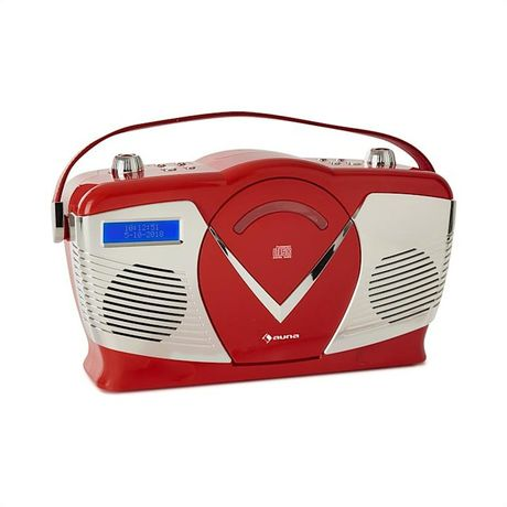 RCD-70 DAB Radio retro CD UKF DAB+ odtwarzacz CD USB Bluetooth kolor c
