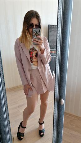 Новый летний костюм жакет и юбка-шорты