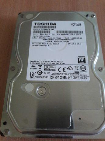 Жесткий диск HDD Toshiba DT01ACA100 1000ГБ (1 ТБ) 7200 RPM