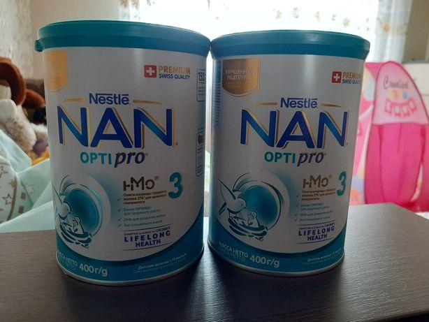 Молочная смесь  Nestle Nan optipro 3