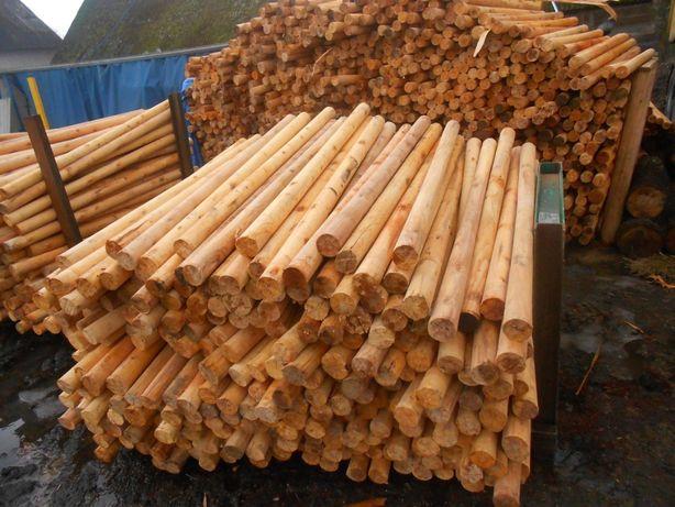 kołki drewniane,słupki,wałki,paliki,palisada,sztachety