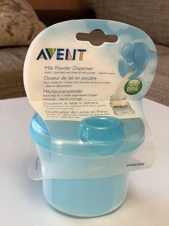 Дозатор для сухого молока Avent Philips бутылочка баночка