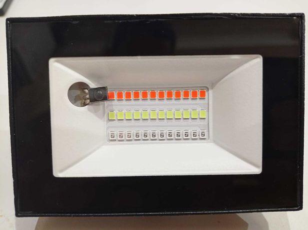 Прожектор LED 20w RGB+IP65 пульт
