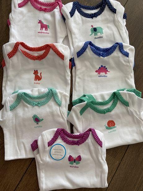 Комплект бодиков newborn Carter's