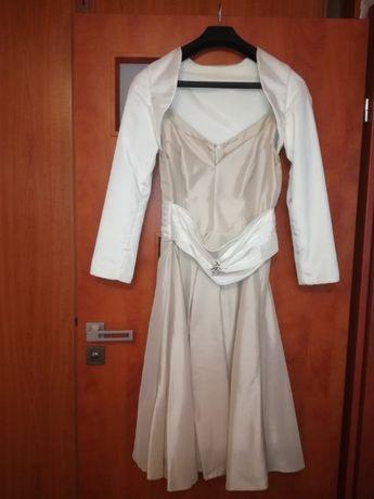 sliczna suknia slubna,wizytowa,karnawal