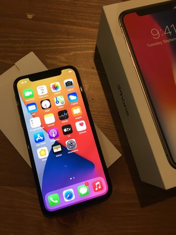 iphone X black 64GB bez simlocka
