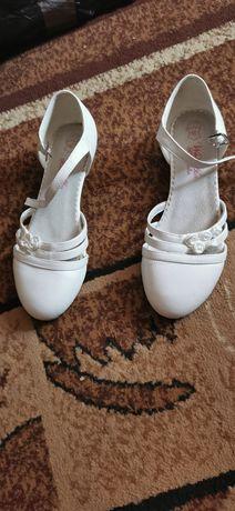 Buty komunijne raz założone