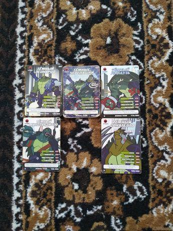 Продам карточки черепашки ніндзя