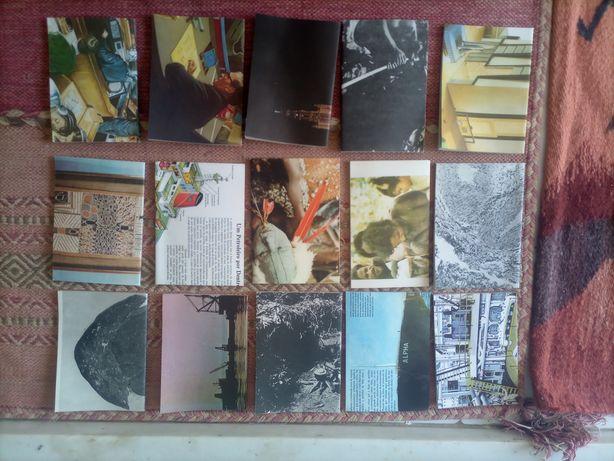 Cadernos reciclados feitos à mão