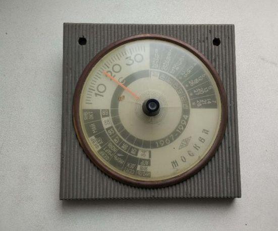 Термометр-календарь СССР