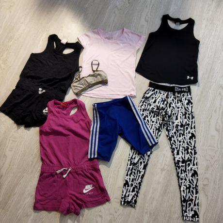 Пакет классной спортивной одежды для девочки 6-7 лет