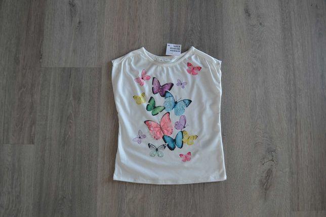Новая нарядная футболка ф. H&M р. 4-6 лет с биркой