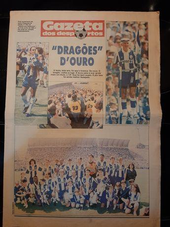 Suplemento Futebol Clube do Porto campeão nacional 1993