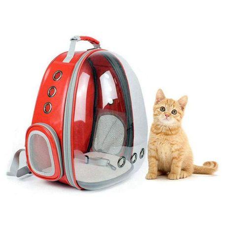 Рюкзак для кота собаки до 7кг прозрачна переноска сумка кошки животных