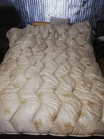 Овечий мех зимнее стеганое одеяло все размеры