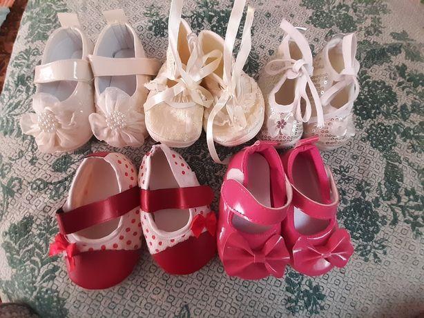 Дитячі пінетки,туфельки для маленької принцеси носили дуже мало