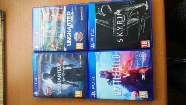 Zestaw 4 gier PS4