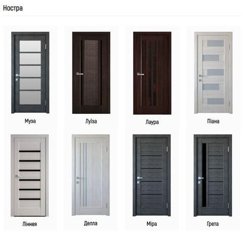 Міжкімнатні двері Новий Стиль (New style)