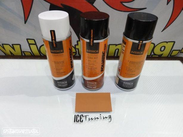 Spray reparação e pintura + limpeza + primário Cognac Mate volantes e interior
