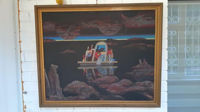 Ноев ковчег - творческая работа художника.
