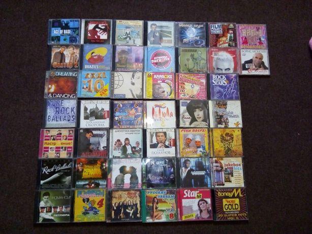 CD диски с записью.