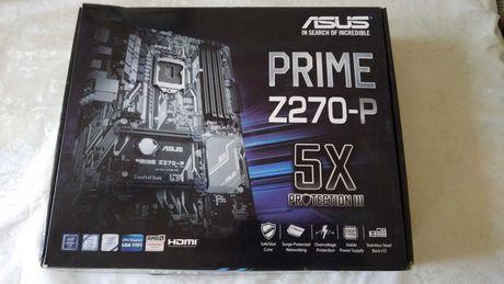 Asus Prime Z270-P. Комплект на 8 карт.