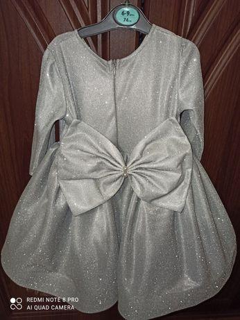 Плаття  для дівчинки на  один  рочок