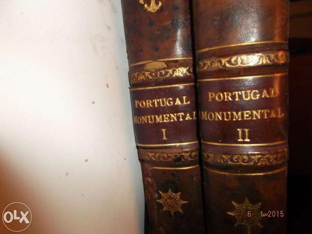 Livros Antigos-Portugal Monumental