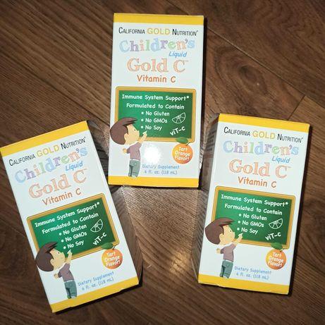 California gold nutrition вітамін с для дітей gold vitamin c