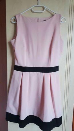 Pudrowo różowa sukienka Roco r. 40