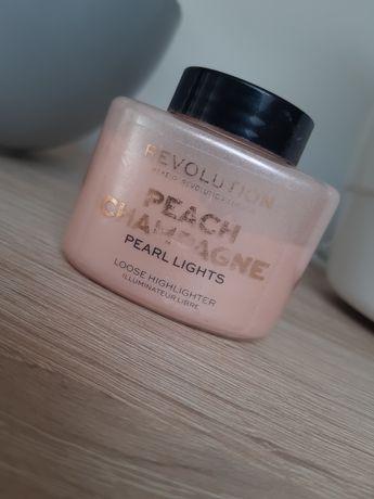 Makeup Revolution sypki rozświetlacz odcień różowy + 2 gratisy