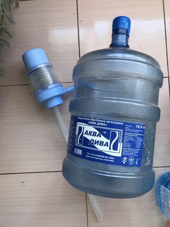 Помпа для воды 19л