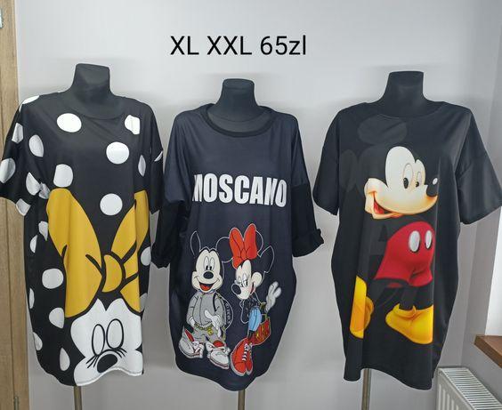 Tunika sukienka myszka Miki Minnie Mickey XL XXL