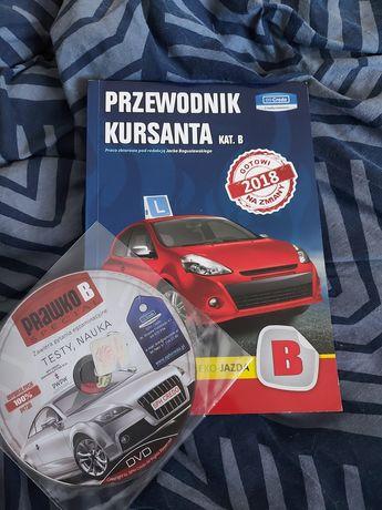 Książka do prawa jazdy + płytka
