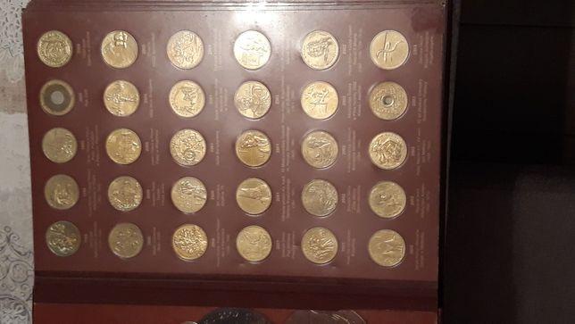 2zł komplet monet okolicznosciowych od 1998 do 2014 roku album gratis