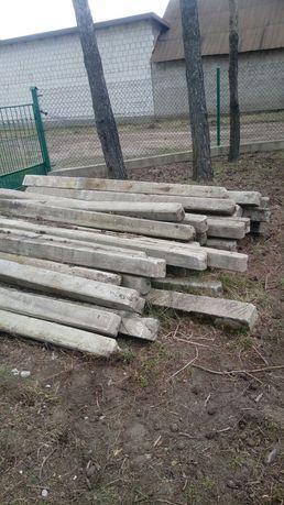 Betonowe słupy ogrodzeniowe