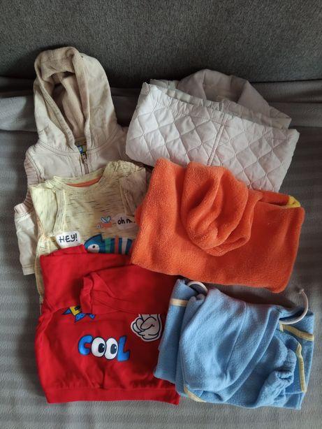 Torba ubranek niemowlęcych w rozm 62-74