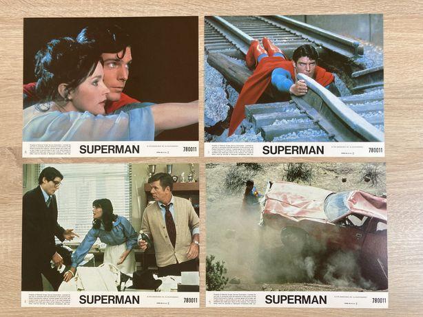 Superman - Christopher Reeve- karty kinowe / kadry filmowe