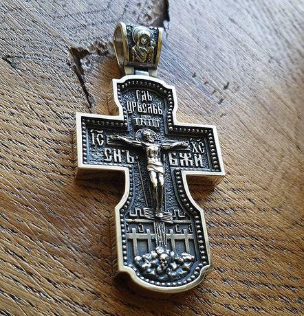 Крест Акимов Крест Серебро Православный крест Распятие